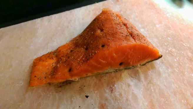 Prepped Raw Salmon