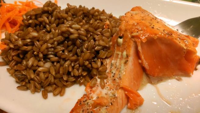 Salmon, rare